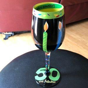 Lolita 50 and Fabulous Wine Glass